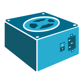 PC / Server Power Supplies Icon