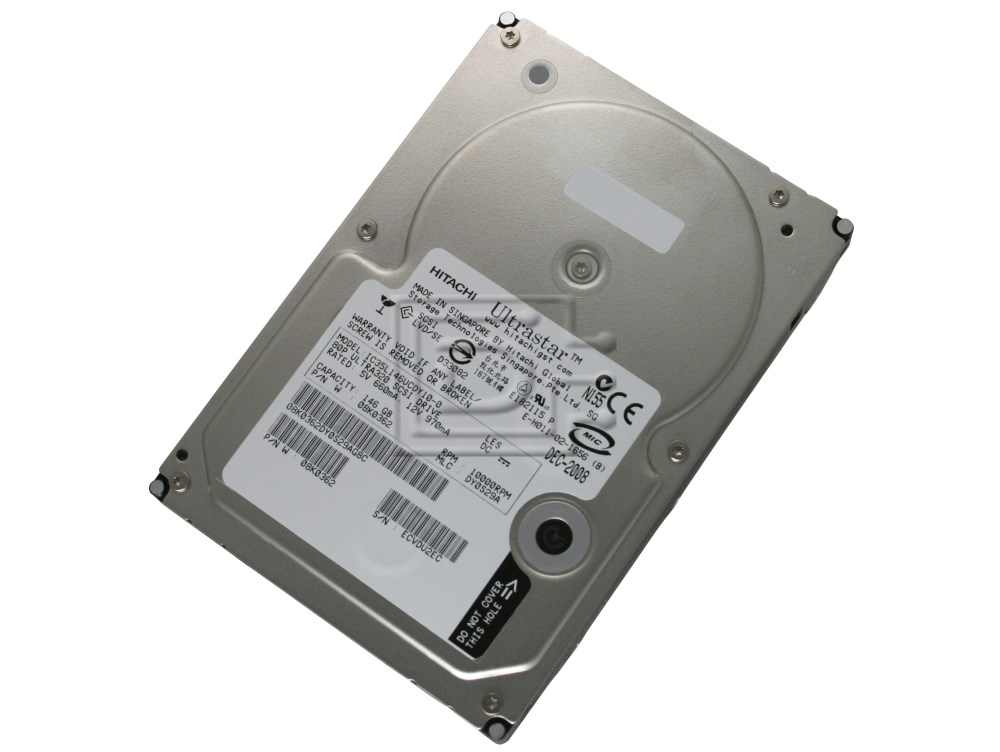 Hitachi 08K0362 IC35L146UCDY10 SCSI Hard Drives image