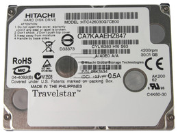 Hitachi HS030GA HTC426030G7CE00 iPod CE hard drive
