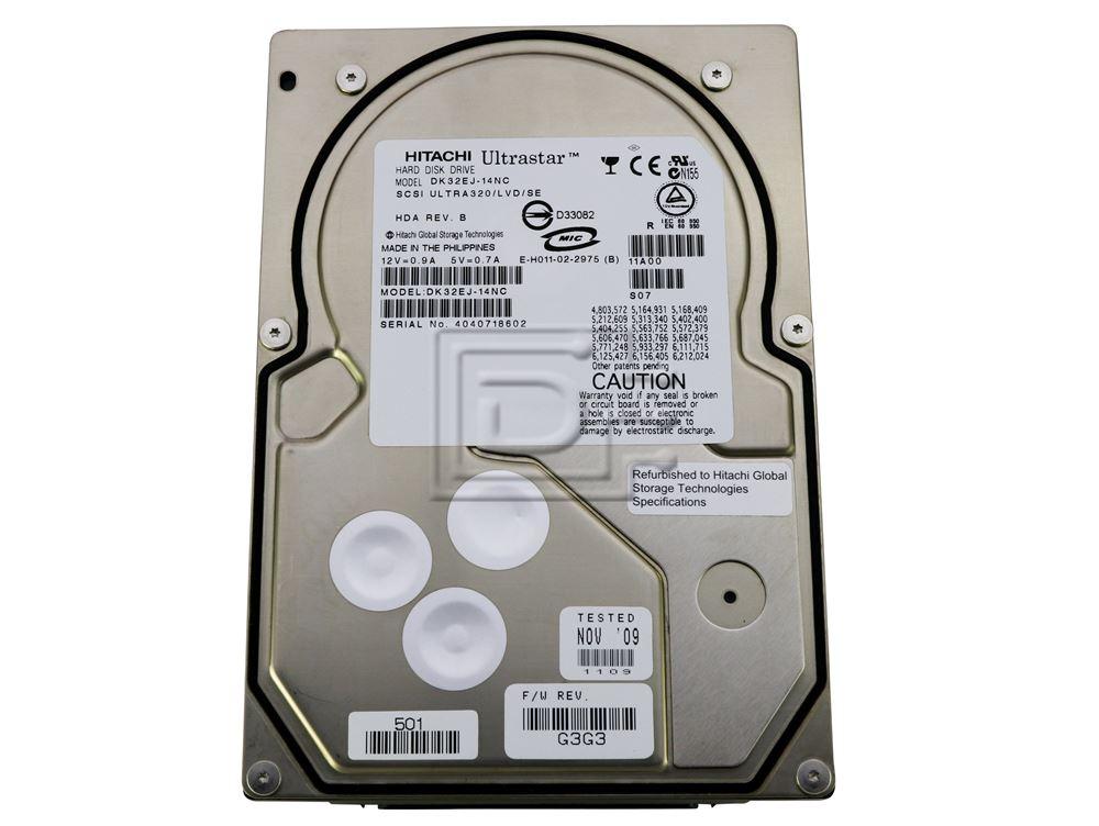 Hitachi 08K2166 DK32EJ-14NC SCSI Hard Drives image 1