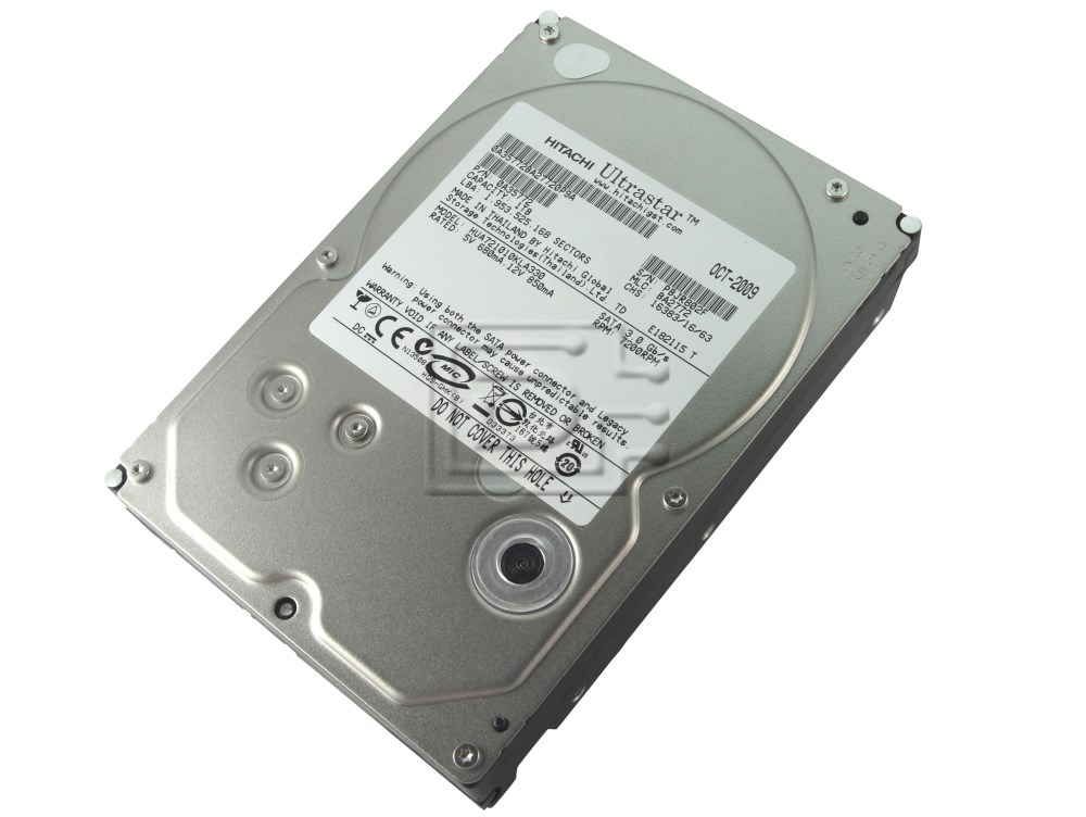 Hitachi 0A35772 0A36073 HUA721010KLA330 Enterprise 1TB SATA Hard Drive image 2
