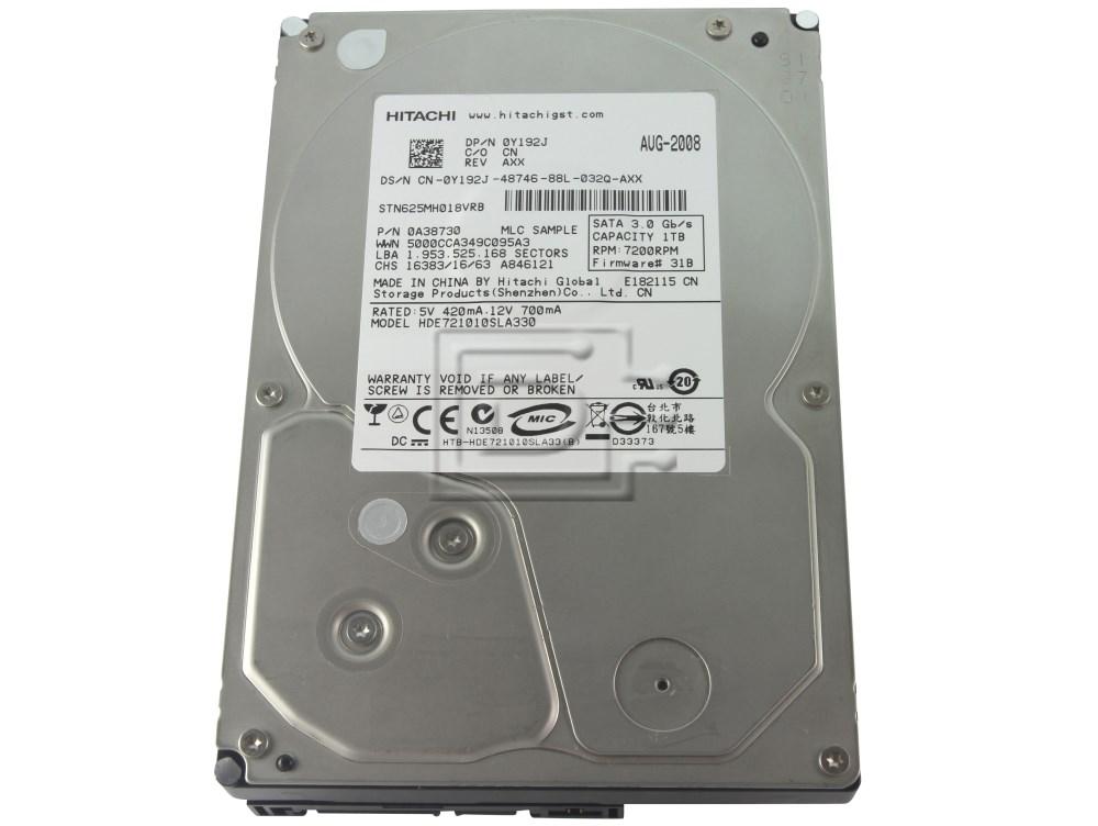 Hitachi 0A38730 HDE721010SLA330 SATA Hard Drive image 1