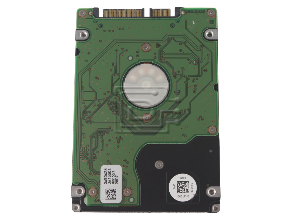 "Hitachi 0A50526 MW780 0MW780 HTS541616J9SA00 SATA 2.5"" Hard Drive Samsung HHM160HI image 2"