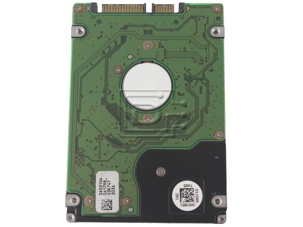 "Hitachi 0A50940 HTS722020K9SA00 Laptop SATA 2.5"" Hard Drive image 2"