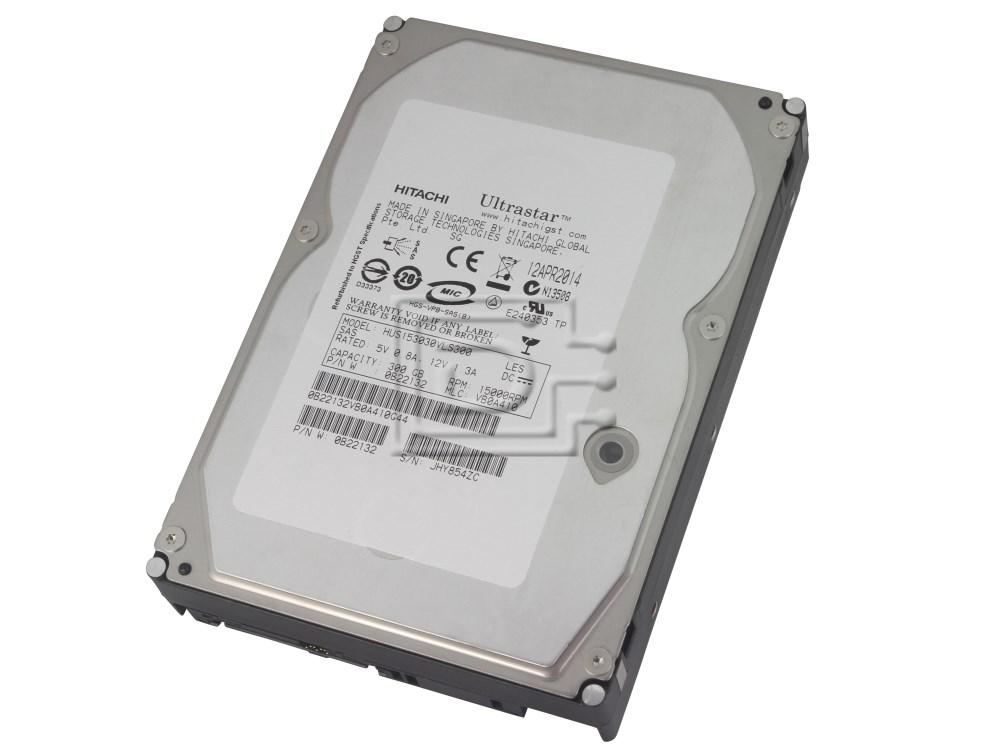 Hitachi 0B22132 HUS153030VLS300 SAS Hard Drives image 1