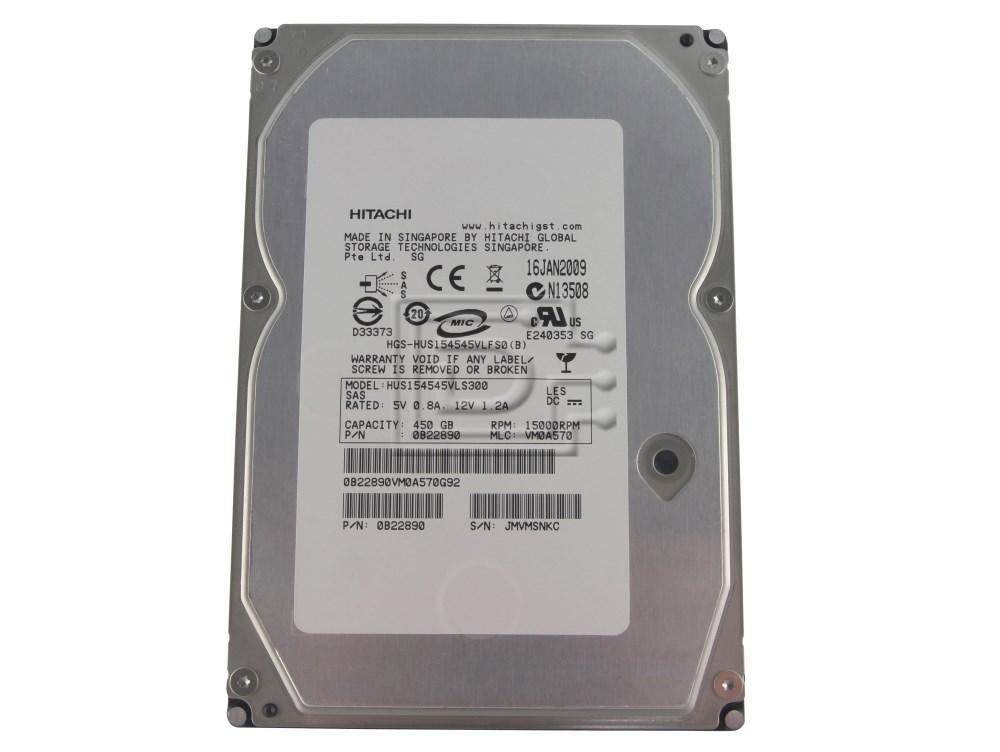 Hitachi 0B22890 HUS154545VLS300 SAS Hard Drives image 1
