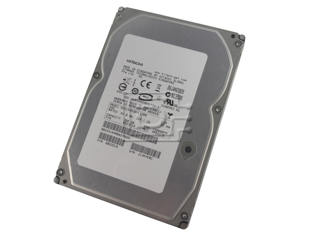 Hitachi 0B23318 HUS154530VLS300 SAS Hard Drives image 1
