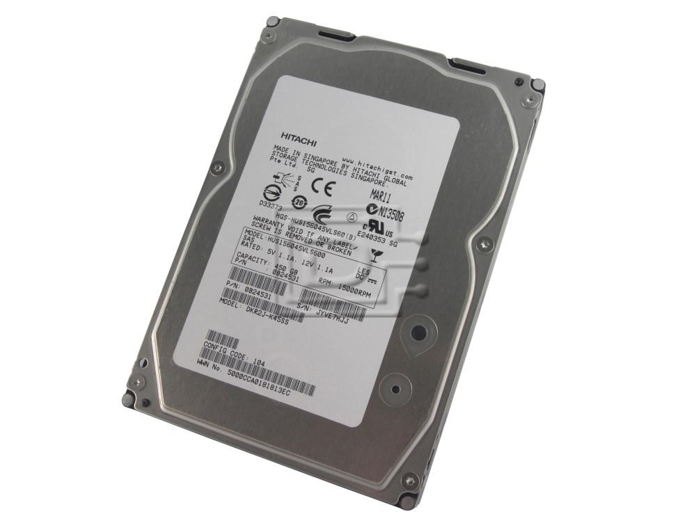"""0B23491 Hitachi 450GB 15K SAS 3Gbps 3.5/"""" HDD HUS154545VLS300"""
