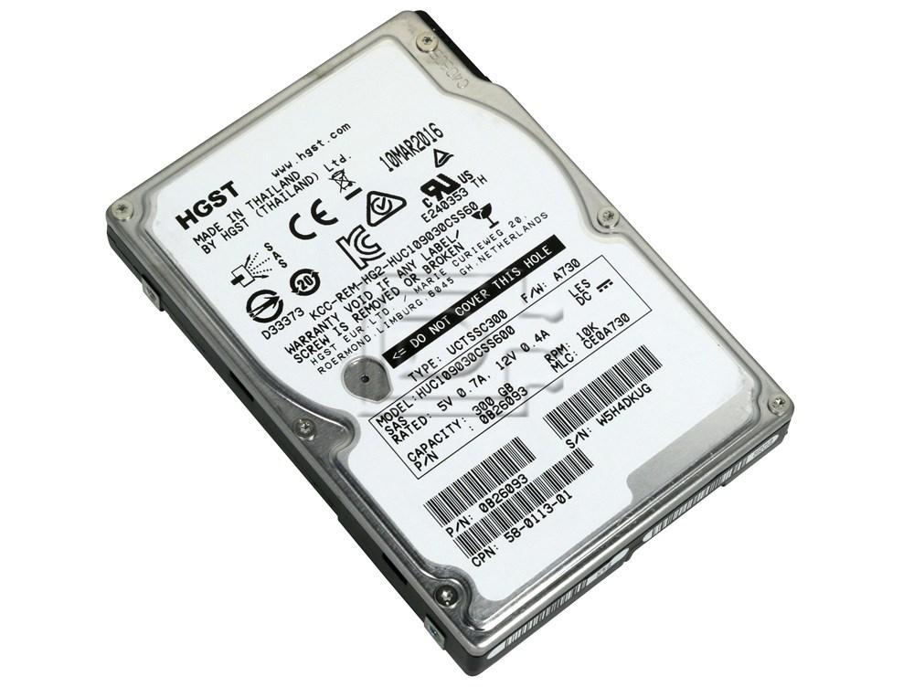 Hitachi 0B26093 / HUC109030CSS600 300GB SAS SFF Hard Drive