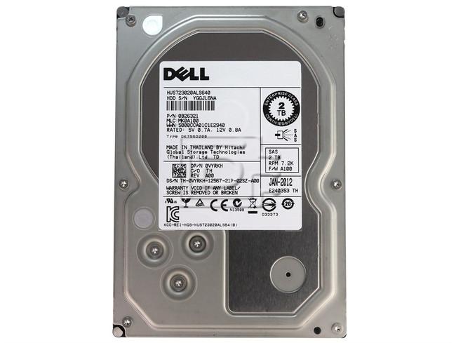 Hitachi 0B26321 0VYRKH VYRKH SAS Hard Drive 2TB 2000GB image 2