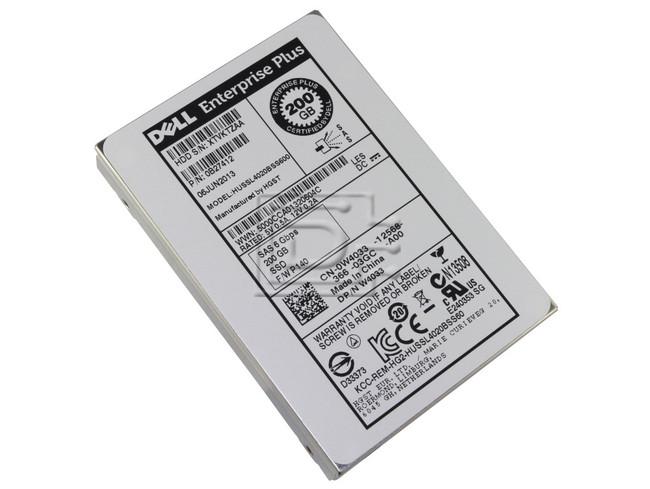 Hitachi 0B27412 HUSSL4020BSS600 W4033 0W4033 Hitachi 200GB SAS SSD SLC Drive image 2