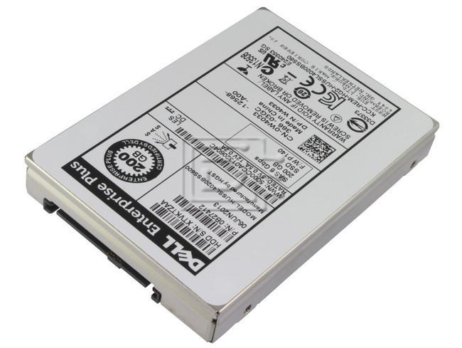 Hitachi 0B27412 HUSSL4020BSS600 W4033 0W4033 Hitachi 200GB SAS SSD SLC Drive image 3