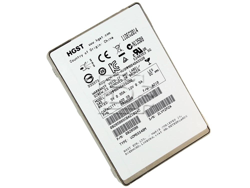 Hitachi Ultrastar SSD800MM Type UCMSSS40M HUSMM8040ASS200