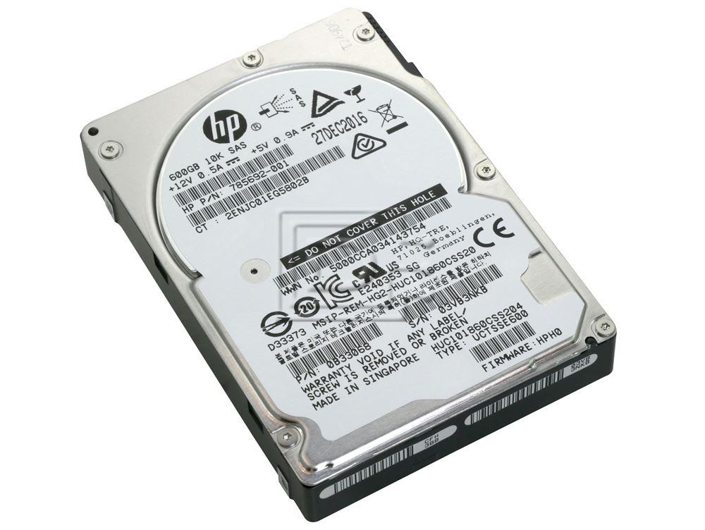 Hitachi 0B33068 HUC101860CSS204 785692-001 SAS Hard Drives image 1
