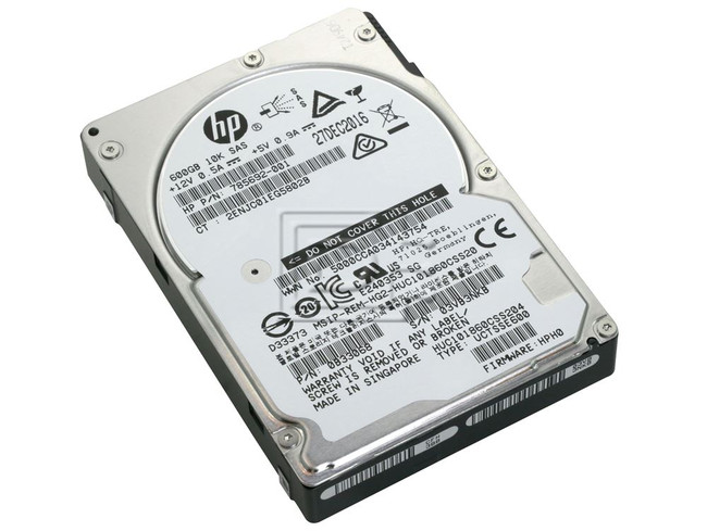 Hitachi 0B33068 HUC101860CSS204 785692-001 SAS Hard Drives image 1