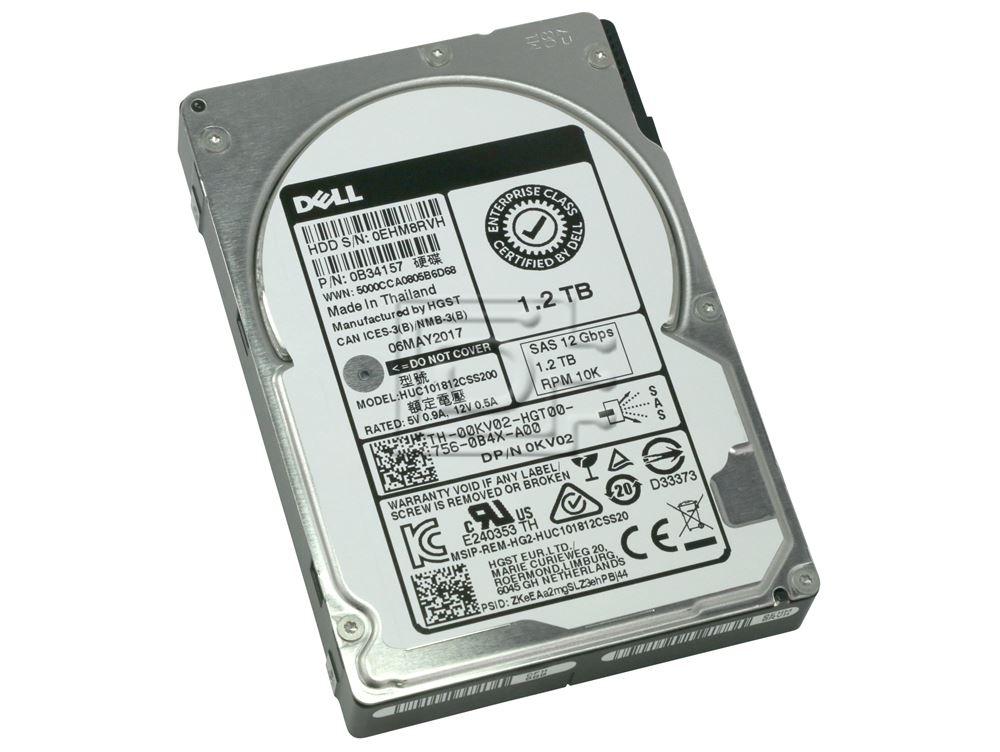 """Dell FR6W6 1.2TB 10000RPM 12Gb//s  2.5/"""" SAS Hard Drive Seagate ST1200MM0198"""
