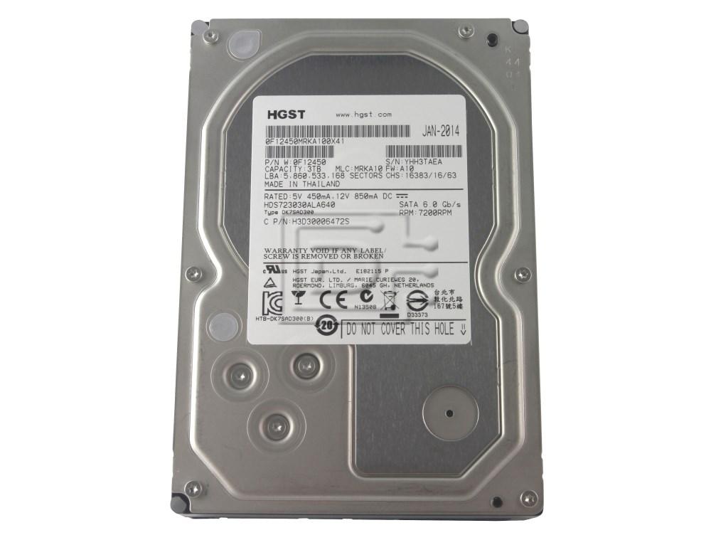 Hitachi 0F12450 HDS723030ALA640 SATA Hard Drive image 1
