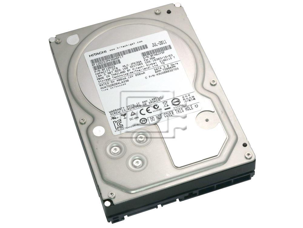 """Hitachi 2000GB 2TB 3.5/"""" 7200RPM SATA Desktop Hard Drive HDS722020ALA330 0F10311"""