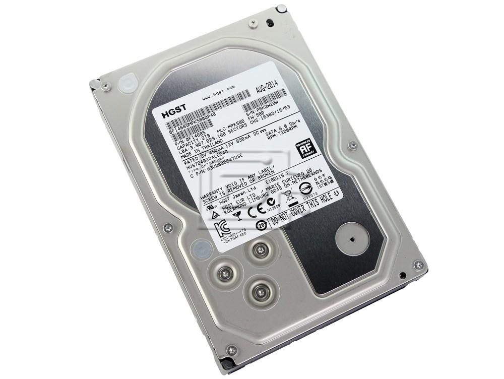 Hitachi 0F14685 HUS724020ALE640 SATA Hard Drive image 2