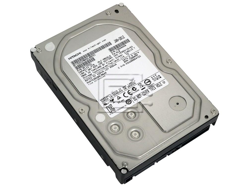 Hitachi 0F22941 0F22968 HUS726040ALS210 HUS726040ALS214 4TB SAS HDD
