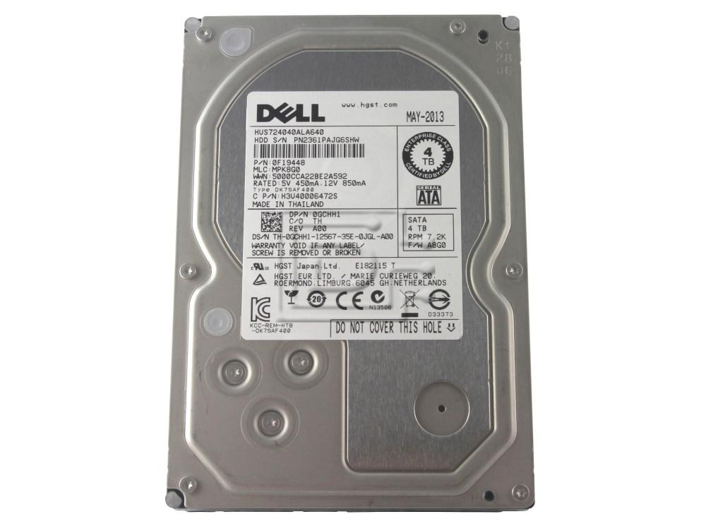 Hitachi 0F19448 HUS724040ALA640 GCHH1 0GCHH1 0N36YX N36YX SATA Hard Drive image 1