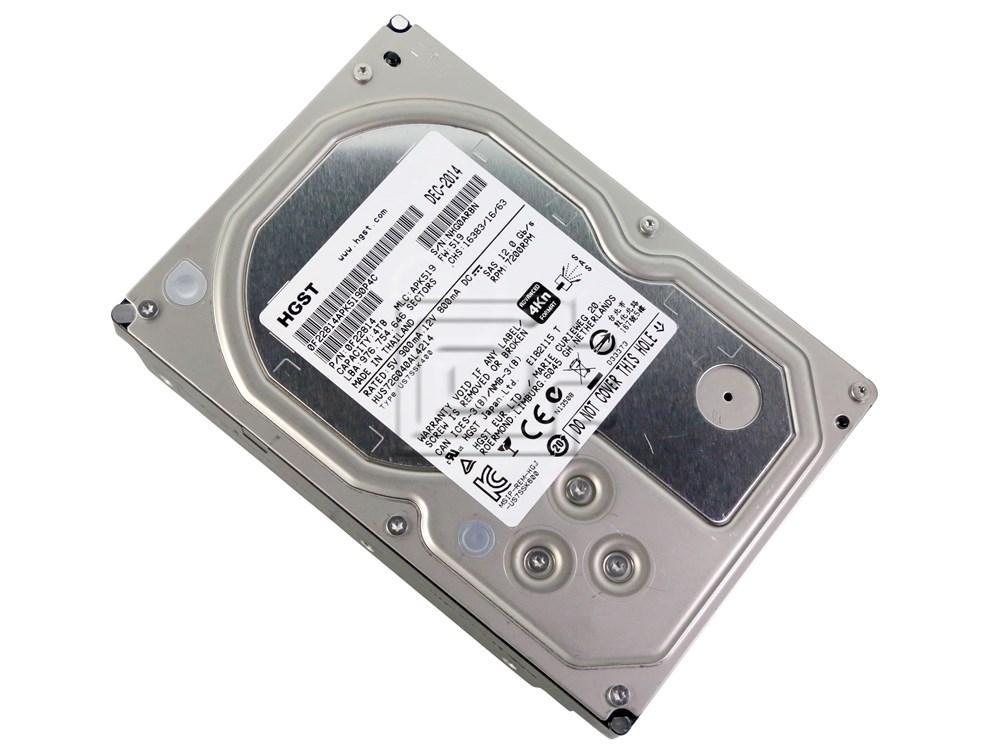 Hitachi 0F22814 HUS726040AL4214 SAS Hard Drive image 2