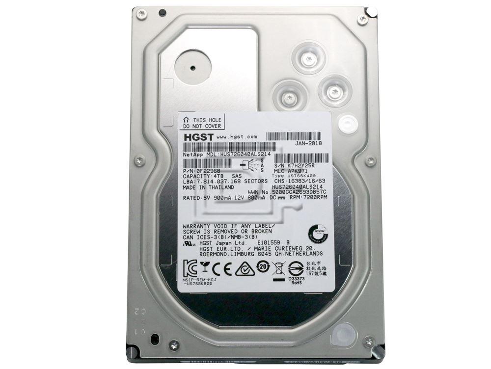 Hitachi HUS726040ALS214 HUS726040ALS210 0F22941 0F22959 0F22968 SAS Hard Drive image 2