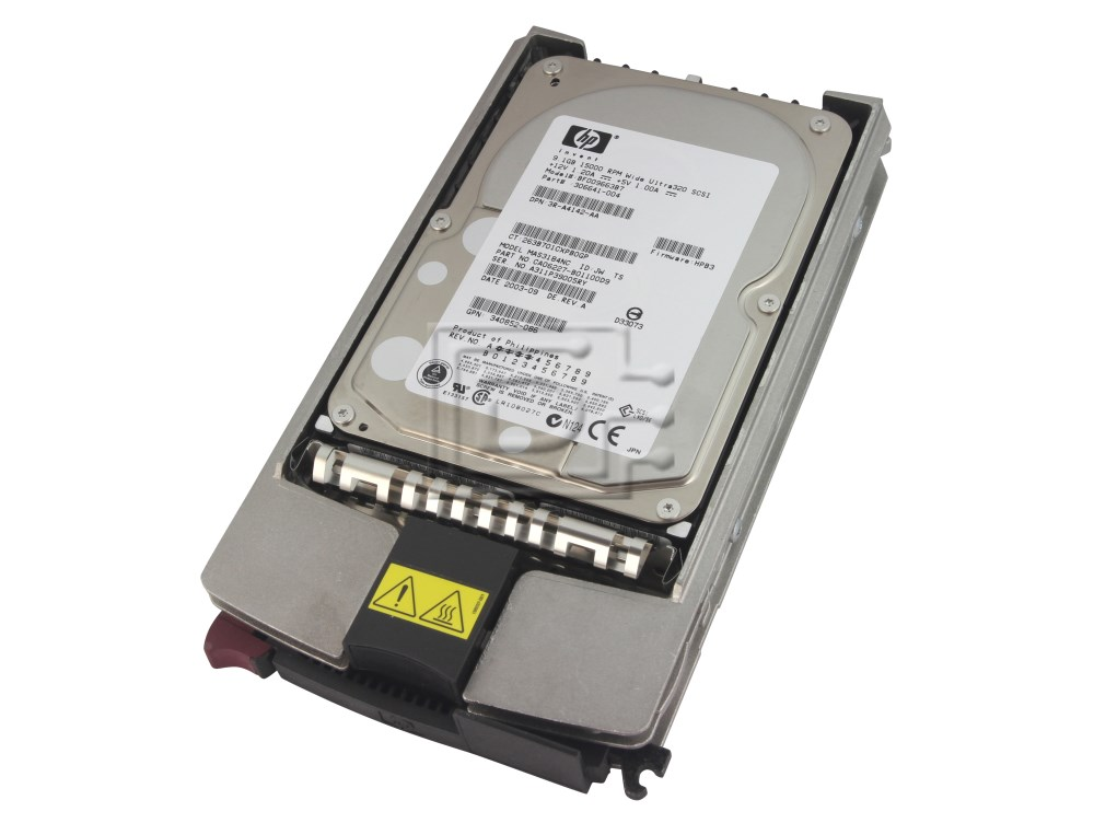 HEWLETT PACKARD 188120-B22 SCSI Hard Drives image 1
