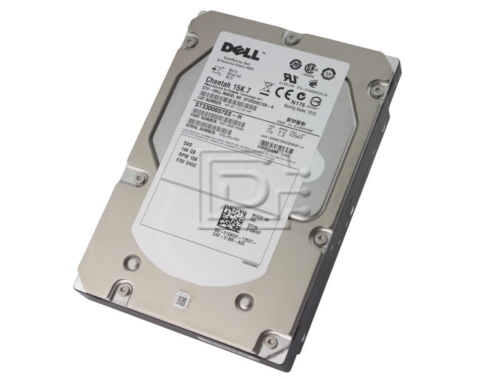 Dell 1DKVF 01DKVF Dell 1DKVF 146Gb 15K SAS Hard Drive image 1