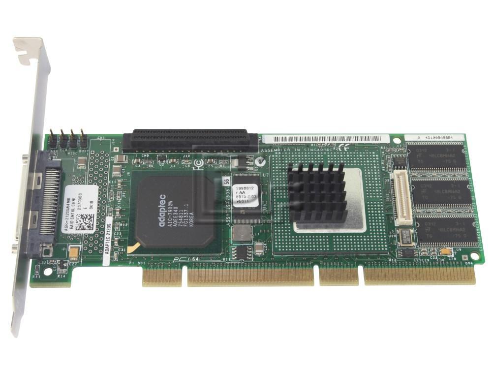 ADAPTEC 2120S ASR-2120S SCSI RAID Controller image 1