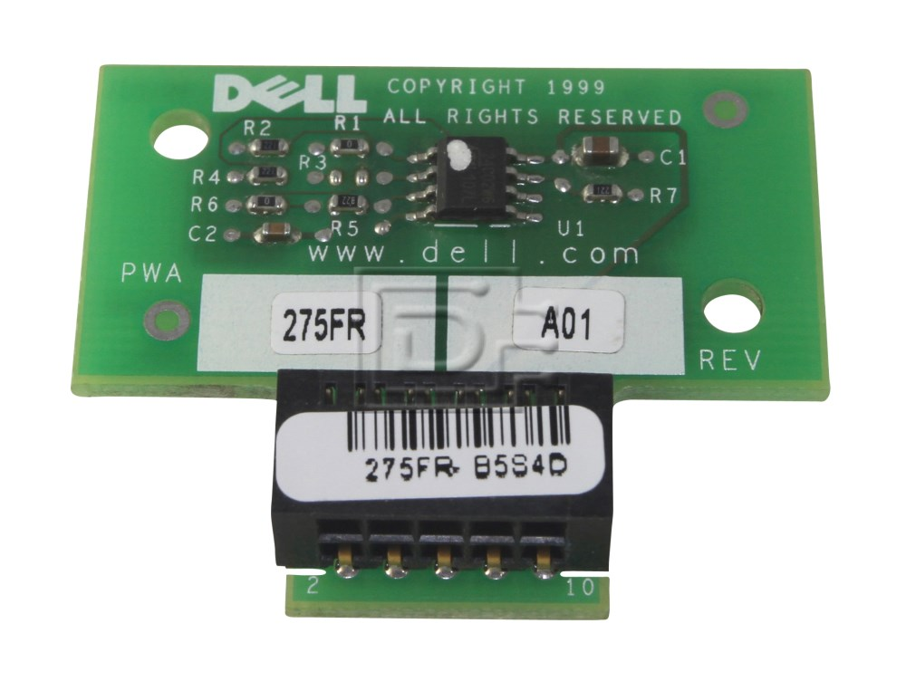 Dell 275FR 0275FR RAID Key PowerEdge 2500 2550 image 1