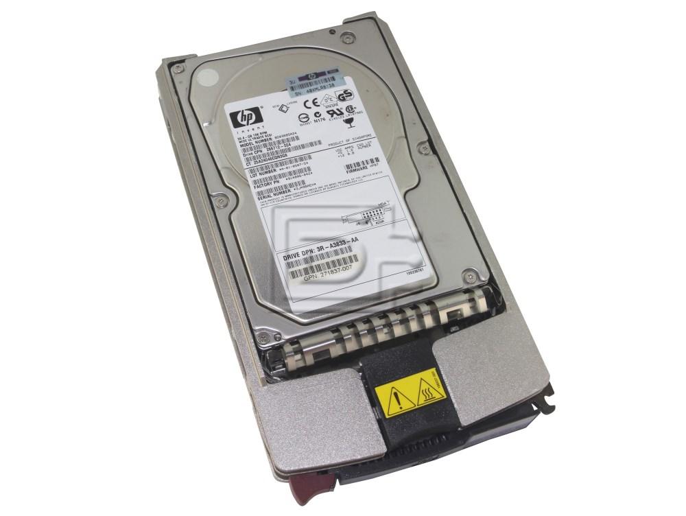 HP 286712-004 BD03685A24 9V4006-042 36.4GB 10K Wide Ultra 320 SCSI Hard Drive