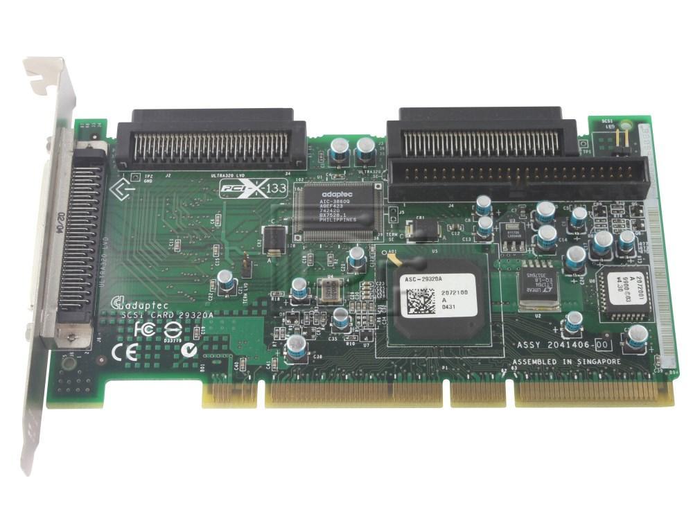 ADAPTEC 29320A SCSI DRIVER UPDATE