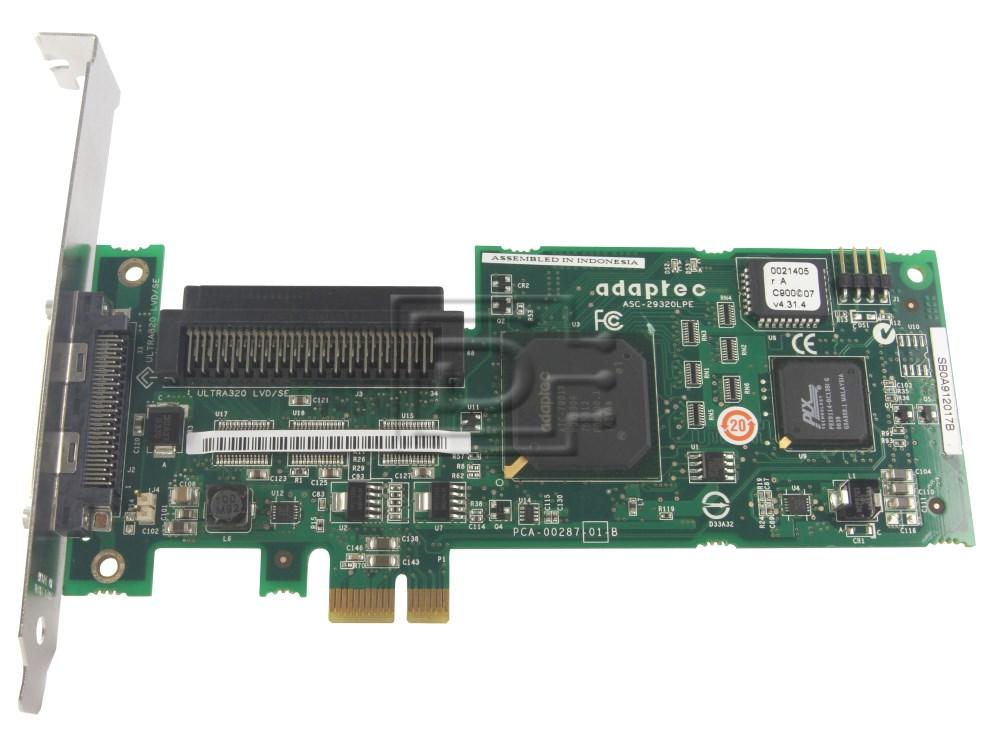 ADAPTEC 29320LPE 2248700-R 2250300-R SCSI Controller PCI Express image 1
