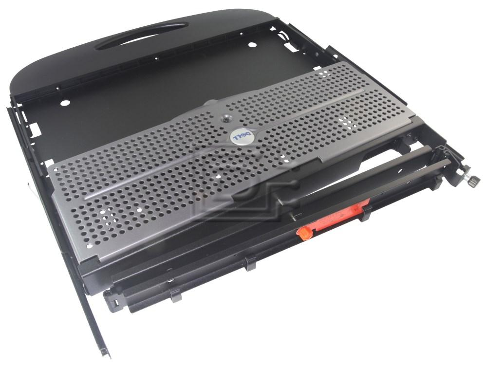 Dell 310-0203 0GJ052 GJ052 X3892 0X3892 KJ648 0KJ648 J2686 0J2686 Dell 310-0203 Rack Mount Keyboard Drawer image 1