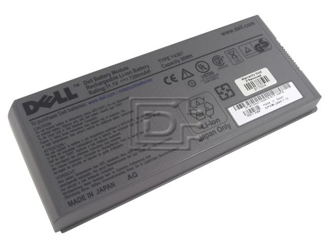 Dell 310-5351 Y4367 0Y4367 D5540 0D5540 Latitude D Series Laptop Battery image 1