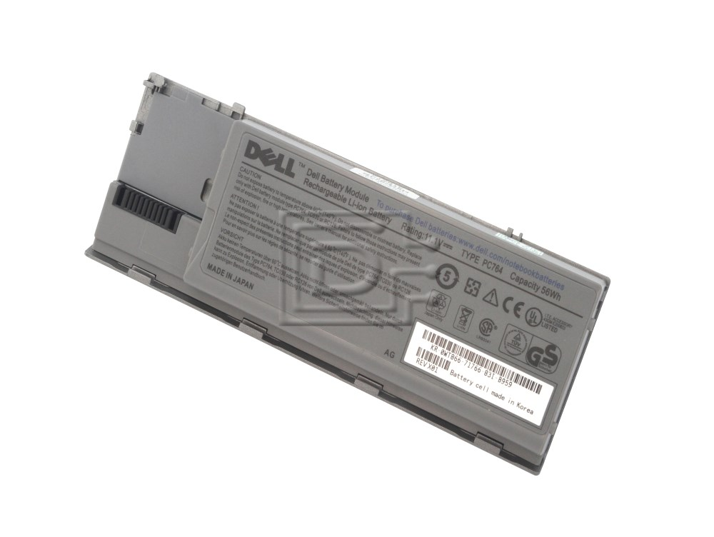 Dell 310-9080 NT379 312-0383 JD634 DU158 PC764 8F867 08F867 Latitude D Series Laptop Battery image 2