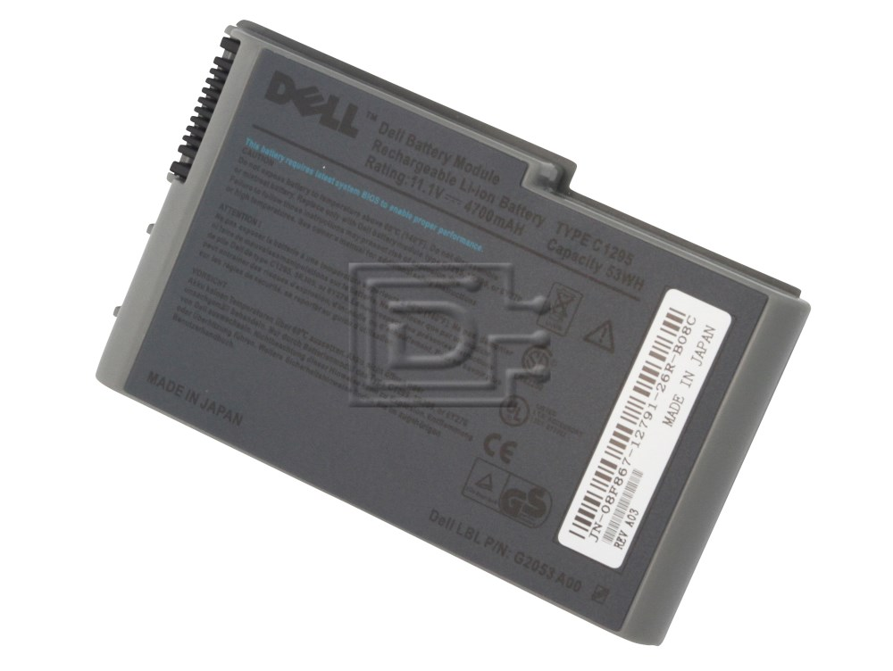 Dell 312-0191 3R305 Latitude Laptop Battery image 2