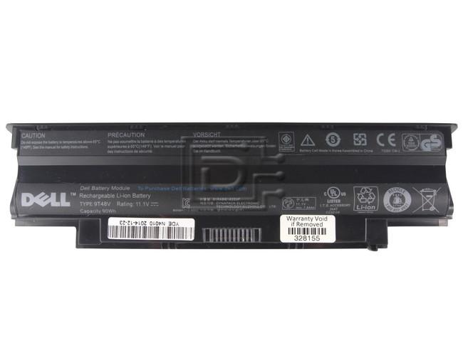 Dell 312-0234 4T7JN 04T7JN 9T48V, YXVK2 ,0YXVK2 Inspiron Series Laptop Battery image 1