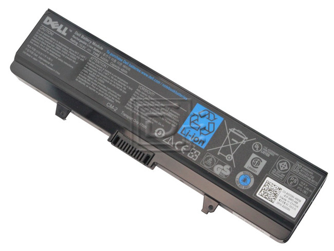 Dell 312-0625 K450N C601H Inspiron 1525 Series Laptop Battery image 2