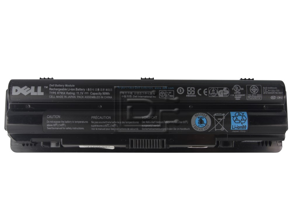 Dell 312 1127 WHXY3 90Wh 9 Cell Lithium Ion Primary Battery For XPS 13 14 L401X