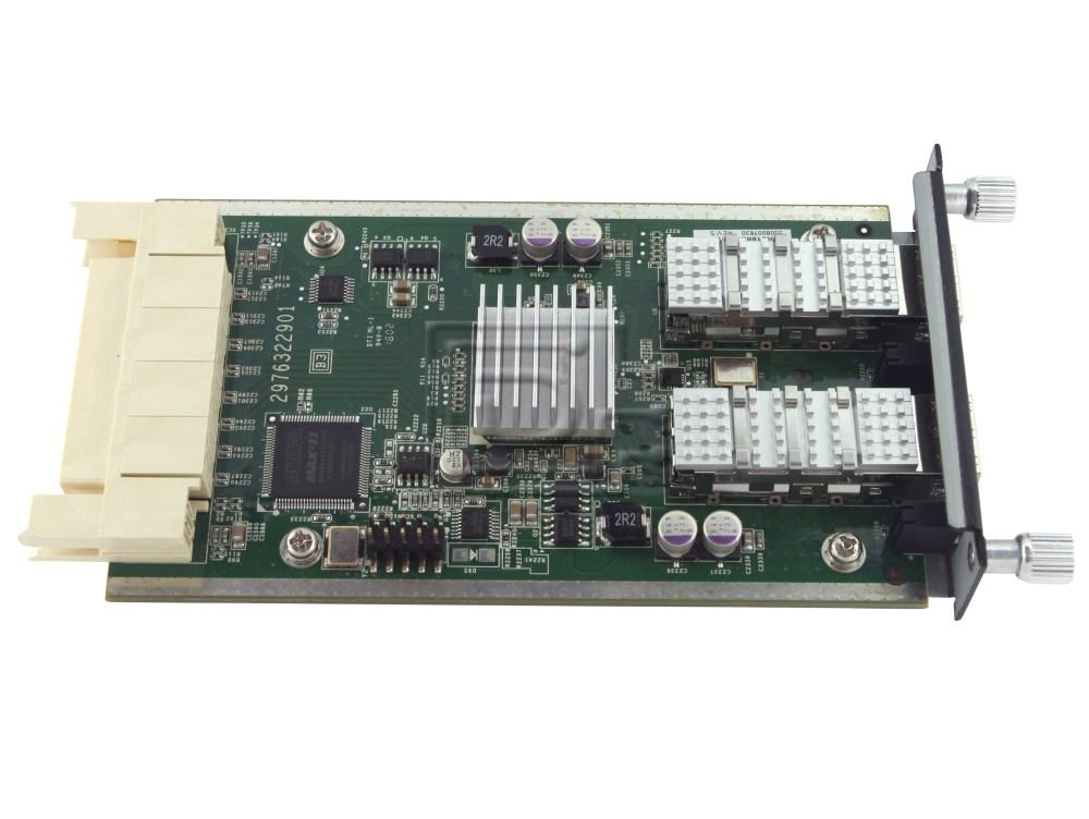 Dell 6200-XGSF 2 Port SFP Module PowerConnect M6220 6224 6248 U691D 10GBe 10GB
