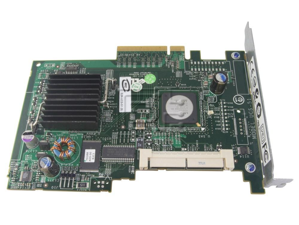 Dell 341-4341 GU186 UN939 0GU186 0UN939 341-3874 MG129 0MG129 MY412 SAS / Serial Attached SCSI RAID Controller Card image 1