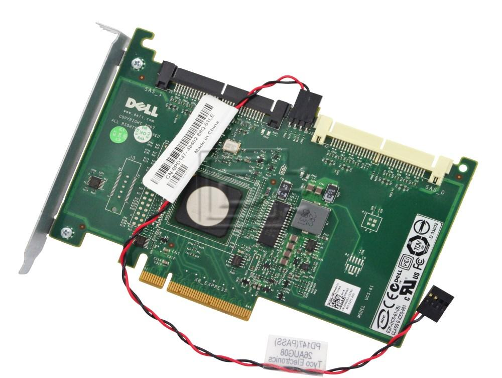 Dell JW063 PowerEdge SAS 6//iR UCS-61 Server RAID Controller Adapter Card