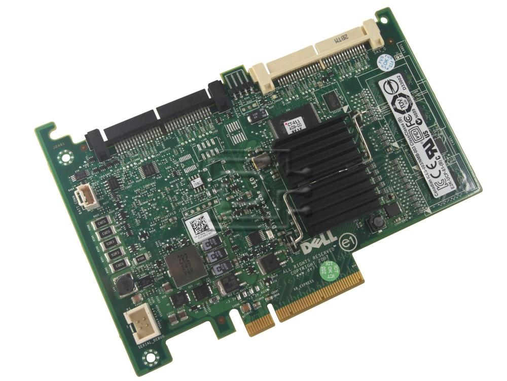 Dell 341-5900 WX636 0WX636 SAS / Serial Attached SCSI RAID Controller Card image 2
