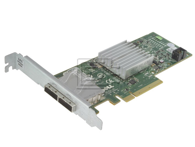 Dell 342-0910 7RJDT 07RJDT J53X3 0J53X3 D687j 0D687J 12DNW 012DNW 405-11482 H200E SAS / Serial Attached SCSI Controller Card image 1