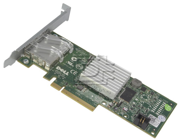 Dell 342-0910 7RJDT 07RJDT J53X3 0J53X3 D687j 0D687J 12DNW 012DNW 405-11482 H200E SAS / Serial Attached SCSI Controller Card image 2