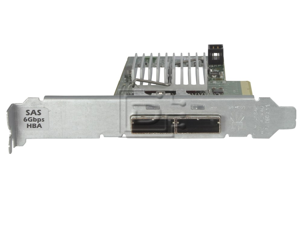 Dell 342-0910 7RJDT 07RJDT J53X3 0J53X3 12DNW 012DNW 405-11482 H200E SAS / Serial Attached SCSI Controller Card image 3