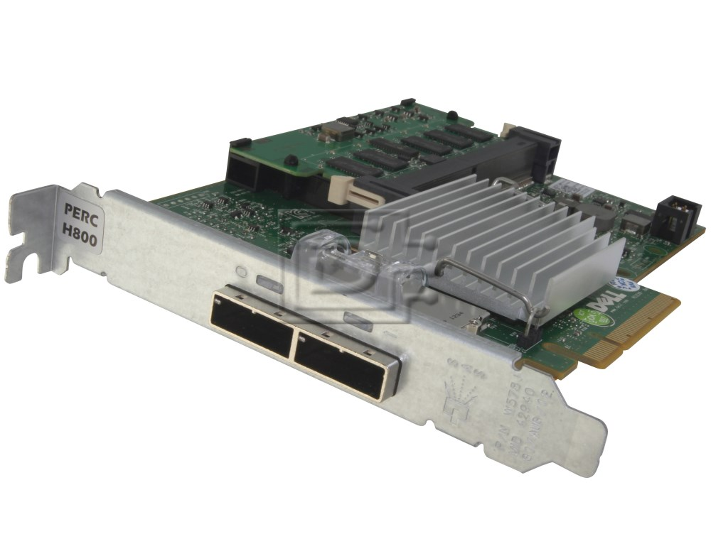 Dell 342-1193 NH118 0NH118 N743J 0N743J 087V49 87V49 D90PG 0D90PG SAS / Serial Attached SCSI RAID Controller Card image 3