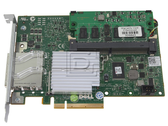 Dell 342-1193 NH118 0NH118 N743J 0N743J 71N7N 071N7N 87V49 087V49 D90PG 0D90PG SAS / Serial Attached SCSI RAID Controller Card image 4